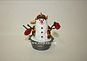 Hallmark 1999 Playful Snowman Ornament QX6867