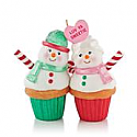 Hallmark 2013 A Couple of Cupcakes Ornament QXG1882