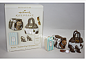 Hallmark 2006 Barbie Fashion Pup Miniature Ornament 5 pc set QXM6336