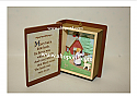 Hallmark 1996 Mary Had A Little Lamb Book Ornament 4th In The Mother Goose Series QX5644
