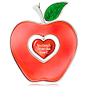 Hallmark 2015 Best Teacher Apple Ornament QGO1699