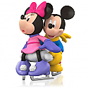 Hallmark 2015 It Takes Two Ornament Mickey And Minnie Mouse Disney QXD6109