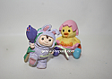 Hallmark 1997 Merry Miniatures Figurine Easter Parade set of 2 QSM8562