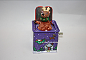 Hallmark 2005 Pop Goes the Reindeer Ornament 3rd in the Jack in the Box Memories QX2125