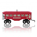 Hallmark 2014 Lionel 601 Observation Car Ornament QXI2583