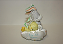 Hallmark 2001 Babys First Christmas Ornament Baby Looney Tunes Bugs and Tweety QX8482 Damaged Box
