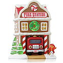 Hallmark 2014 Fire Station Ornament 9th in the Noelville series QX9116