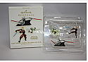 Hallmark 2006 Asajj Ventress Anakin Skywalker and Yoda Star Wars Miniature set of 3 QXM2113
