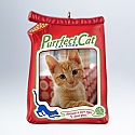Hallmark 2012 Purrfect Cat Ornament photo holder QXG4724