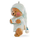 Hallmark 2016 Comfy And Cozy Ornament 2nd In the Mary Hamiltons Bear Series QX9171