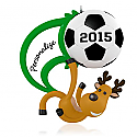 Hallmark 2015 Soccer Star Ornament QGO1409