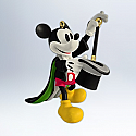 Hallmark 2012 Magician Mickey Ornament 1st in the  Mickey's Movie Mouseterpieces series QX8294