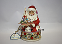 Jim Shore Christmas Spirit Fills My Sails Small Santa with Sailboat Figurine 4022912