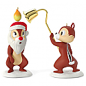 Hallmark 2016 A Merry Pair Chip Dale Set of 2 Ornament QXD6292
