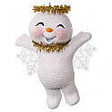 Hallmark 2016 Sweet Snow Angel Ornament QGO1621