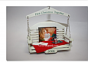Hallmark 2006 First Christmas Together Photo Holder Ornament QXG2716 Box Bent