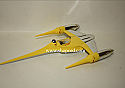 Hallmark 1999 Naboo Starfighter Ornament Star Wars Episode I QXI7613