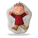 Hallmark 2016 Pigpens Snow Angel Peanuts Ornament QXI3291