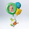 Hallmark 2012 Baby's First Birthday Ornament Personalize (Photo Holder) QXG4064