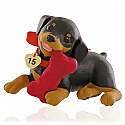 Hallmark 2015 Puppy Love Ornament 25th In The Series QX9129
