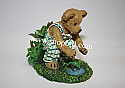 Boyds The Bearstone Collection - Billy Goodfriend with Lil Rabbit (Pond Pals) #4032078