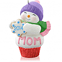 Hallmark 2014 Mom Cupcake Ornament QGO1083