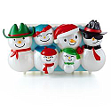 Hallmark Christmas Concert Snowmen Section 3 XKT1411