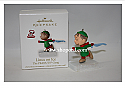 Hallmark 2010 Linus on Ice Continuity Program The Peanuts Gang QRP4736