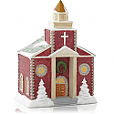 Hallmark 2014 Cozy Country Church Ornament QGO1326
