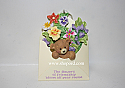 Hallmark 1999 Friendly Delivery Marys Bears Spring Ornament QEO8419 Damaged Box
