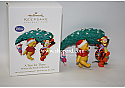 Hallmark 2010 A Tree for Three Winne the Pooh Collection Keepsake Ornament Club QXC1004
