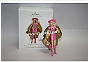 Hallmark 2009 Barbie as Corinne In Barbie and The Three Musketeers Ornament QXI1362 Damaged Box
