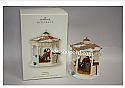 Hallmark 2007 Gazebo Winter Park Ornament QP1207