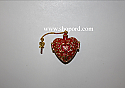 Hallmark 2004 Charming Hearts Miniature Ornament 2nd in the series QXM5194
