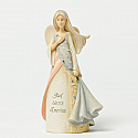 Enesco Foundations Patriotic Mini Angel Figurine 4032458
