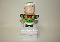 Hallmark Peanut Gang Linus Christmas Light Show With Music Continuity Band 50th Anniversary XKT1504 No Price Tag