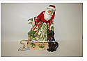 Jim Shore Fur ever Festive Santa With Puppy Figurine 4046760