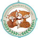 Hallmark 2014 Friends Are Family Too Ornament QGO1396
