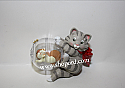 Hallmark 2001 Mischievous Kittens Ornament 3rd In The Series QX8025