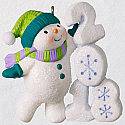 Hallmark 2018 Keepsake Frosty Fun Decade Ornament QX9513