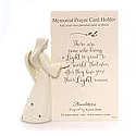 Enesco Foundations Angel Prayer Card Stand 4056503