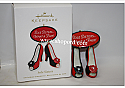 Hallmark 2010 Sole Sisters Ornament QXG7496 Box Bent