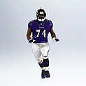 Hallmark 2012 Michael Oher Ornament 18th in the Football Legends series QX8234