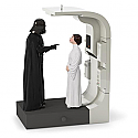 Hallmark 2016 Royal or Rebel Star Wars Ornament A New Hope Vader and Leia QXI3414 Damaged Box