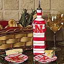 Nebraska Cornhuskers Ceramic Dipping Set - Oil bottle & 2 saucers