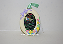 Hallmark 1993 Beautiful memories Photo Holder Spring Ornament QEO8362 Damaged Box