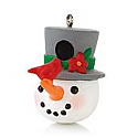 Hallmark 2013 Jolly Birdhouse Miniature Ornament QXM8525