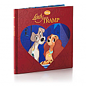 Hallmark Lady and the Tramp Disney Hardcover Gift Book VTD1542