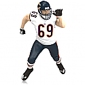 Hallmark 2015 Jared Allen Chicago Bears NFL Football Ornament QXI2739