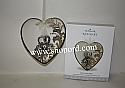 Hallmark 2017 With This Ring Ornament Heart QHX1002